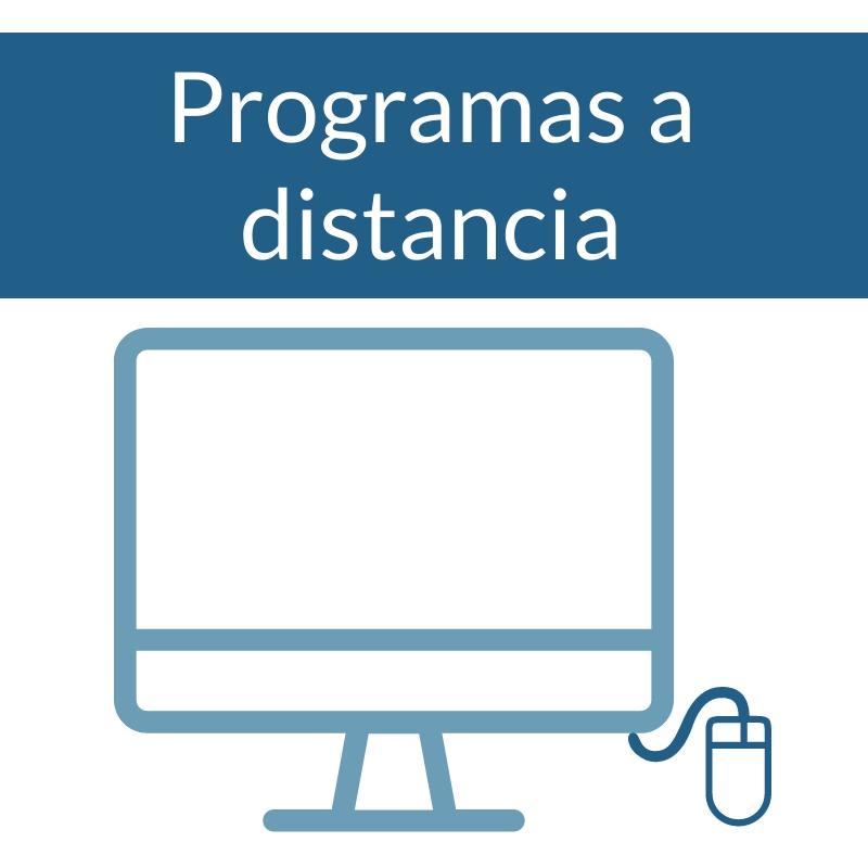 Programas a distancia