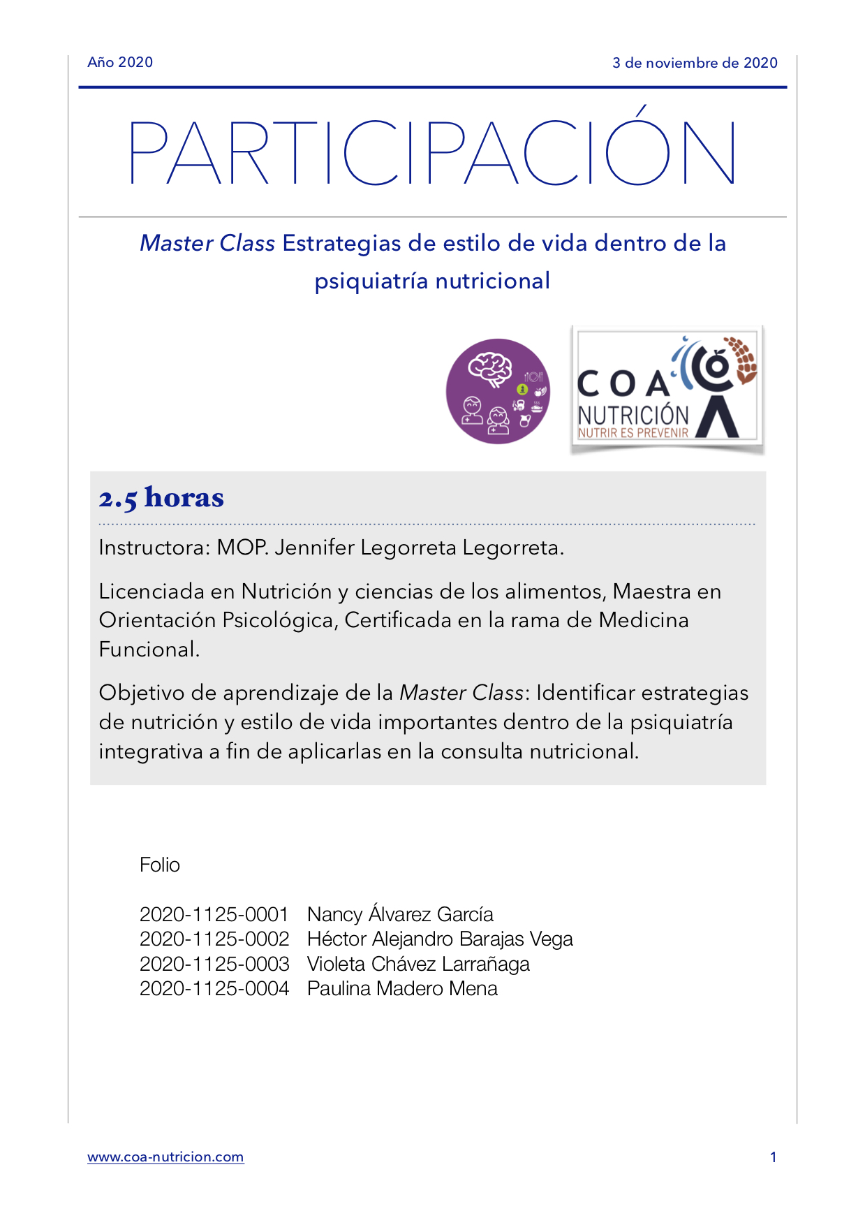 Participación MCnov20-COA